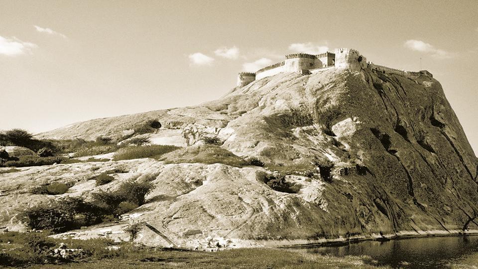 Fort Namakkal in Tamil Nadu