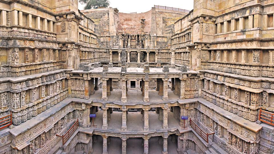Pride of Patan: The journey of Rani Ki Vav from being a buried art treasure  to the reverse of the new Rs 100 note - india news - Hindustan Times