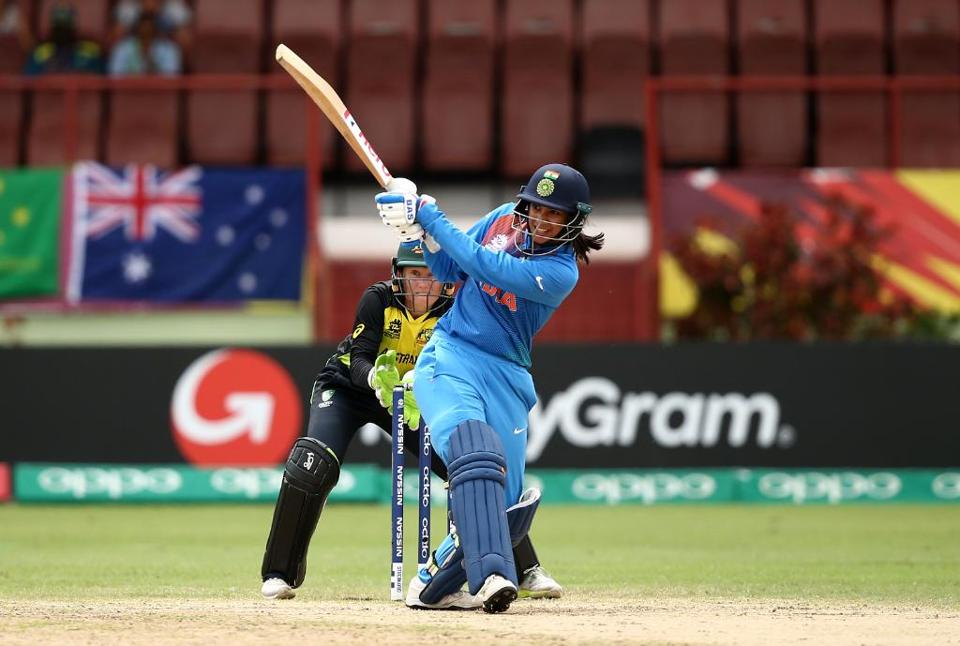 Smriti Mandhana was outstanding with her innings of 83. (ICC)