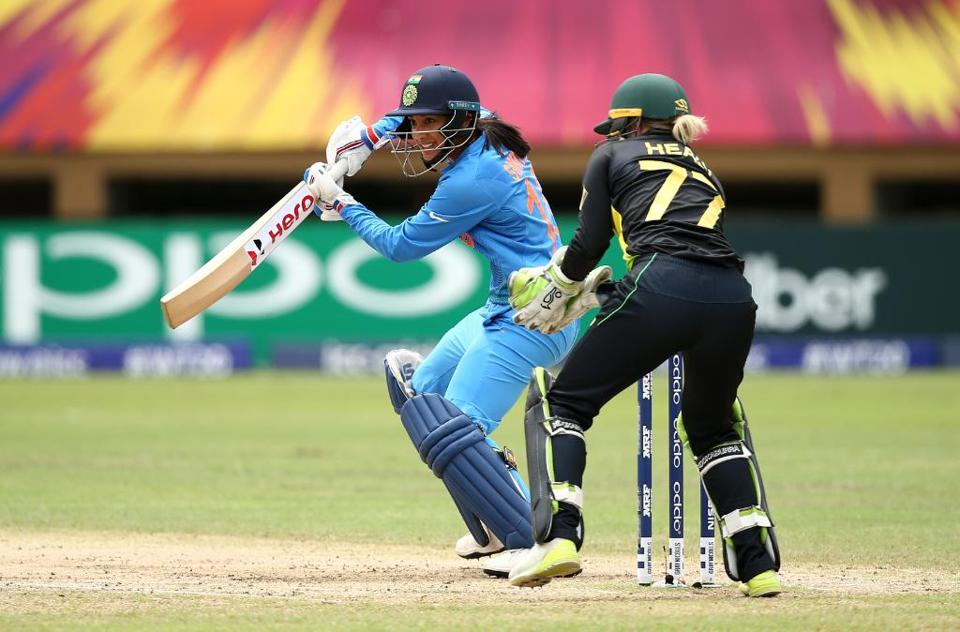 Smriti Mandhana starred for India with a magnificent knock of 83.  (ICC )