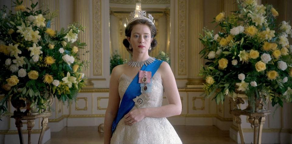 Claire Foy as a young Queen Elizabeth, in The Crown. Asked if there was an element of propaganda in his portrayal of the Queen, an attempt to make her more relatable and human to the global, post-colonial audience, Daldry laughed and replied with a simple, 'Yes'.