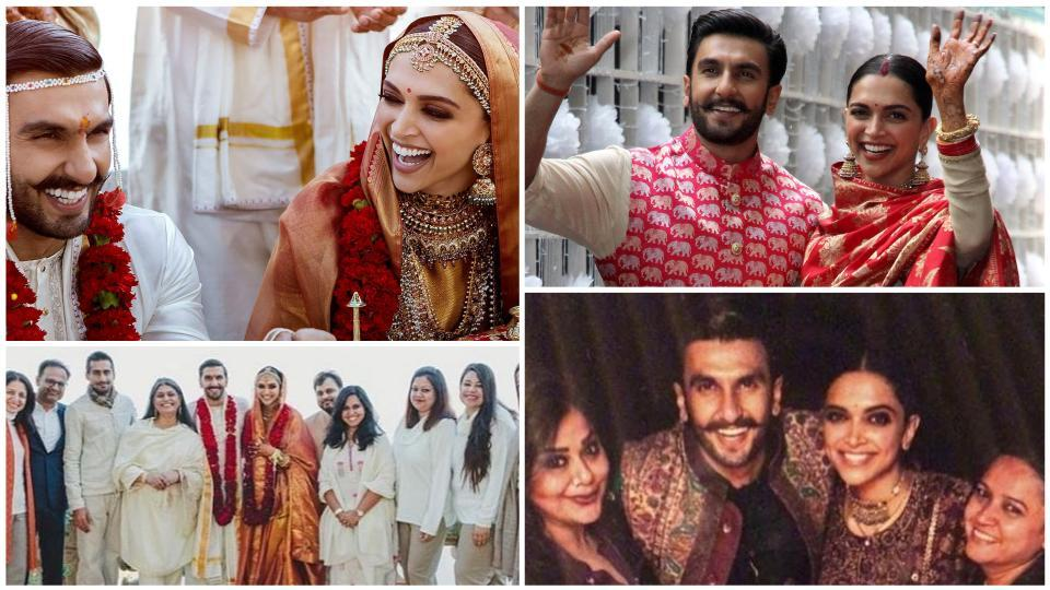Bollywood stars Deepika Padukone and Ranveer Singh tied the knot in Italy's Lake Como on November 14 and 15. While the world waited for a long time for a single pic from the wedding, we now have a nice and thick wedding album. Here are all the stunning pictures from their wedding.