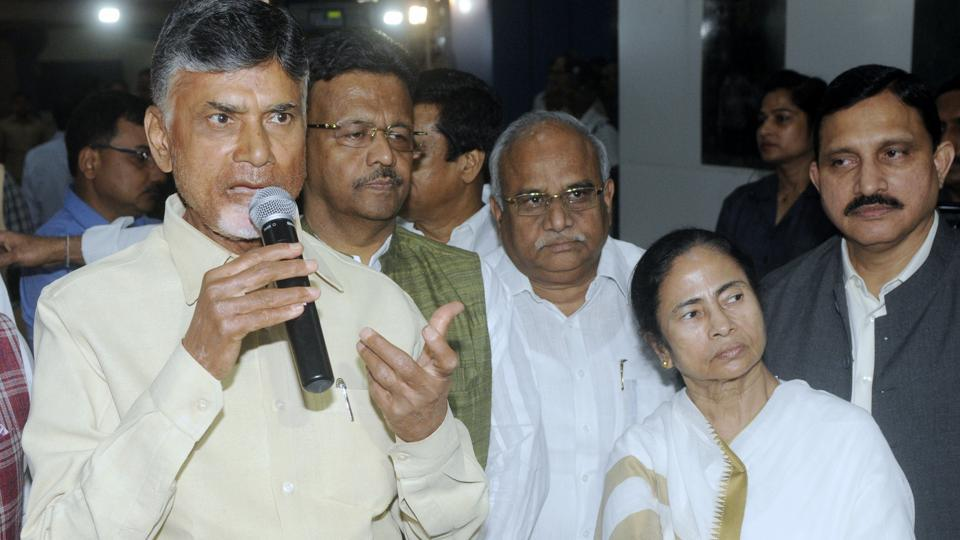 Anti-BJP Opposition front,Opposition meet,Chandrababu Naidu