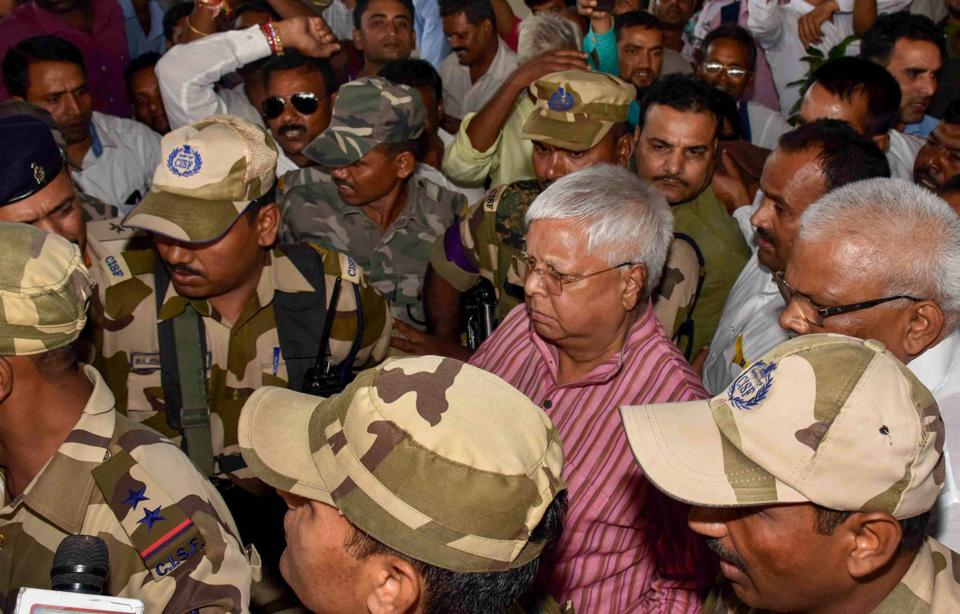 On Monday, the Delhi court directed RJD chief Lalu Prasad to appear before it on December 20 through video conference in connection with the IRCTC scam case. Special judge Arun Bharadwaj passed the directions after he was told that the accused could not appear before the court, as per earlier direction, owing to his ill health. (PTI File)