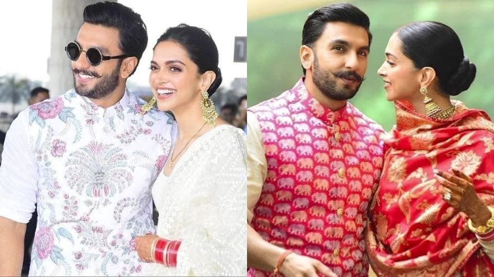d5c7145ac8 Deepika Padukone, Ranveer Singh give us another chance to swoon over their  matching Sabyasachi looks at Mumbai airport. We can't wait to see if  Ranveer will ...