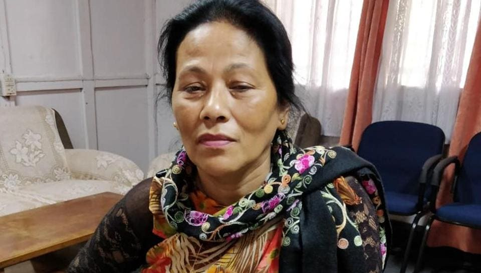 Agnes Kharshiing, 58, has been documenting illegal mines and trucks carrying coal by travelling across the state