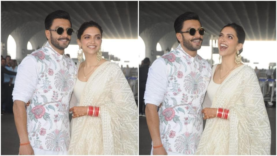 Deepika-Ranveer go twinning again, head to Bengaluru for reception