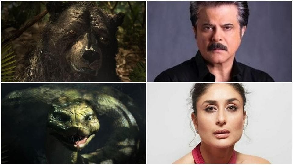 Anil Kapoor and Kareena Kapoor will voice Baloo and Kaa respectively in Netflix's Mowgli: Legend of the Jungle.