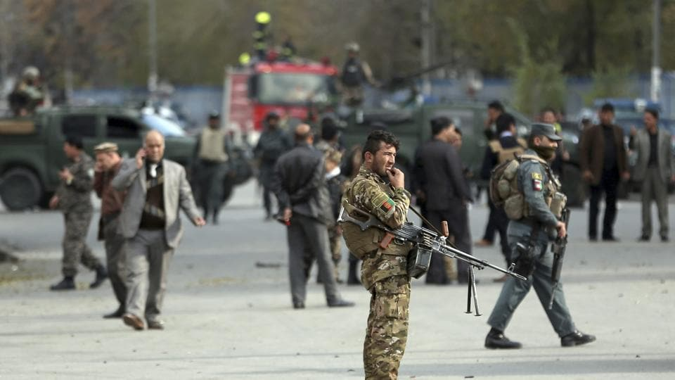 Bomb blast at religious scholar gathering in Afghanistan kills at least 40