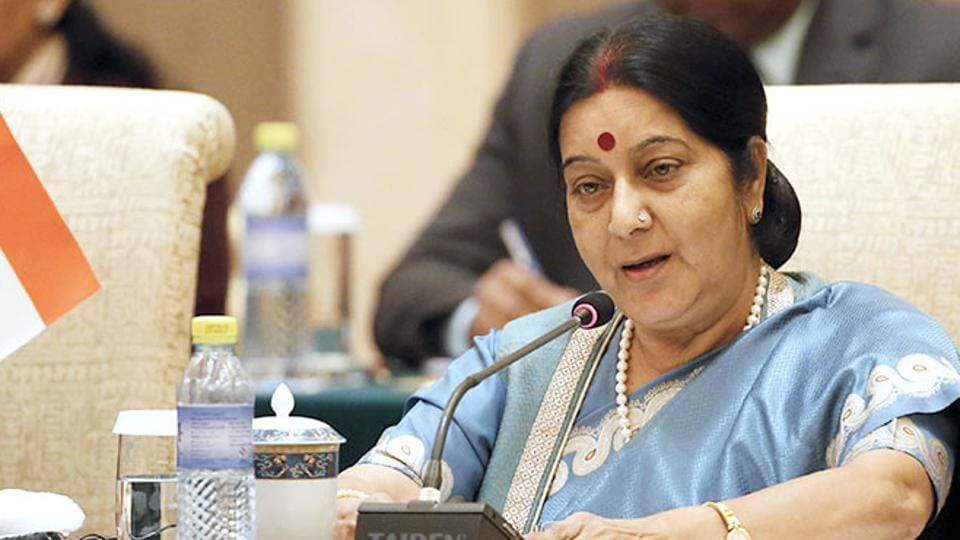 Sushma Swaraj made the announcement to not contest in the 2019 polls at a press meet in Indore on Tuesday morning