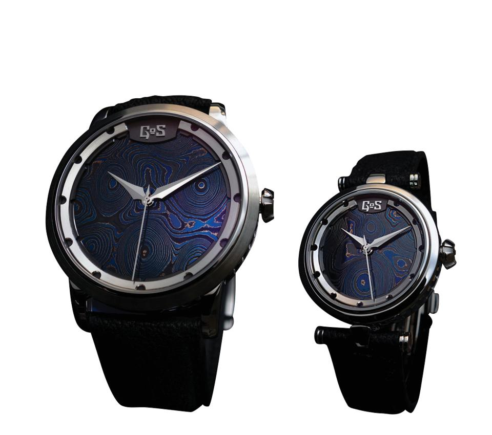 Represented by watch maker Patrick Sjogren, GOS watches showcased some of its finest creations including the Sarek Midnight Blue and Varing Bronze, each piece unique in their own right.