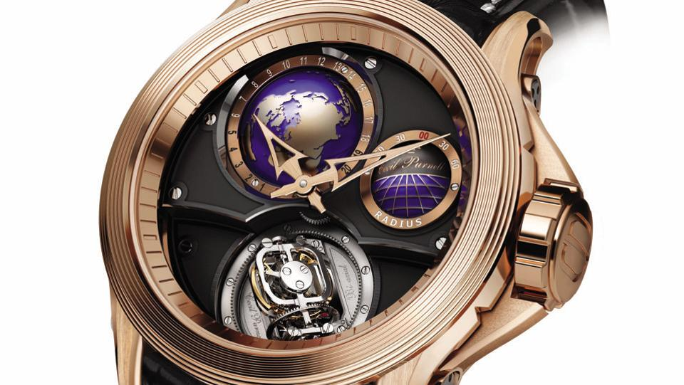 Cecil Purnell , a haute horlogerie brand from Switzerland, dedicated to creating only Tourbillion pieces, which is the epitome of watch- making presented some of their most luxurious time pieces such as the Spherion Gyro-Tourbillon and Diamond Pavé Lucky Lady.