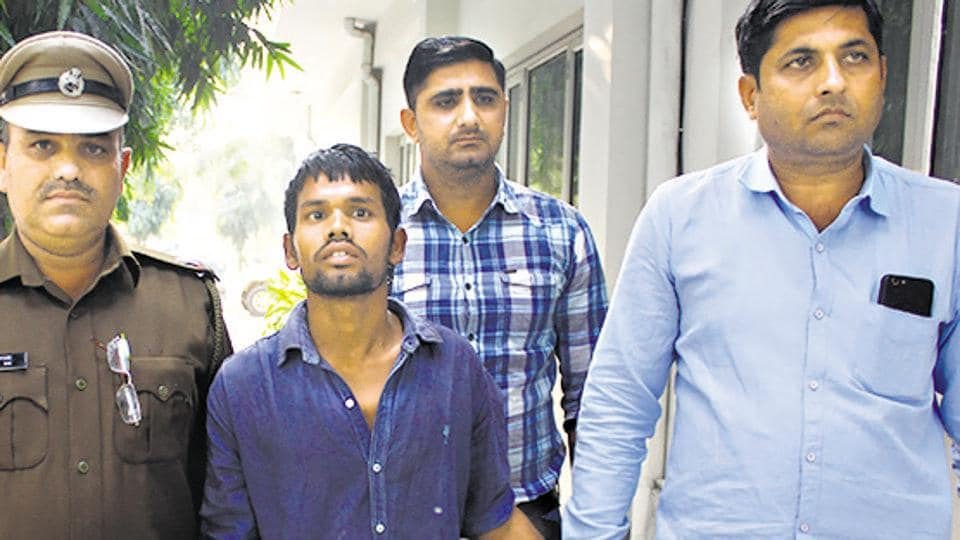 Twenty-year-old Sunil Kumar was arrested from Jhansi for allegedly raping and murdering a three­-year-­old girl in Gurugram on Novmeber 11.