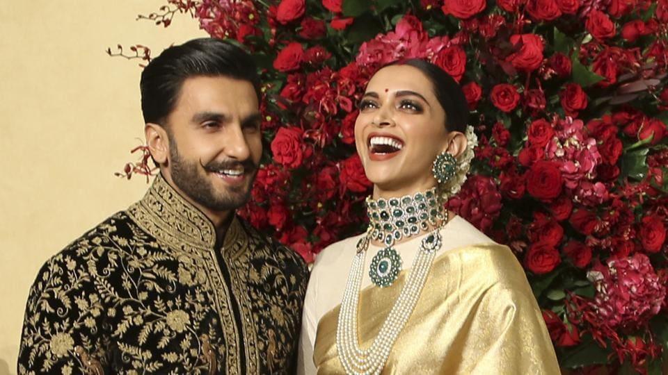 Deepika Padukone Ranveer Singh Bengaluru Wedding Reception