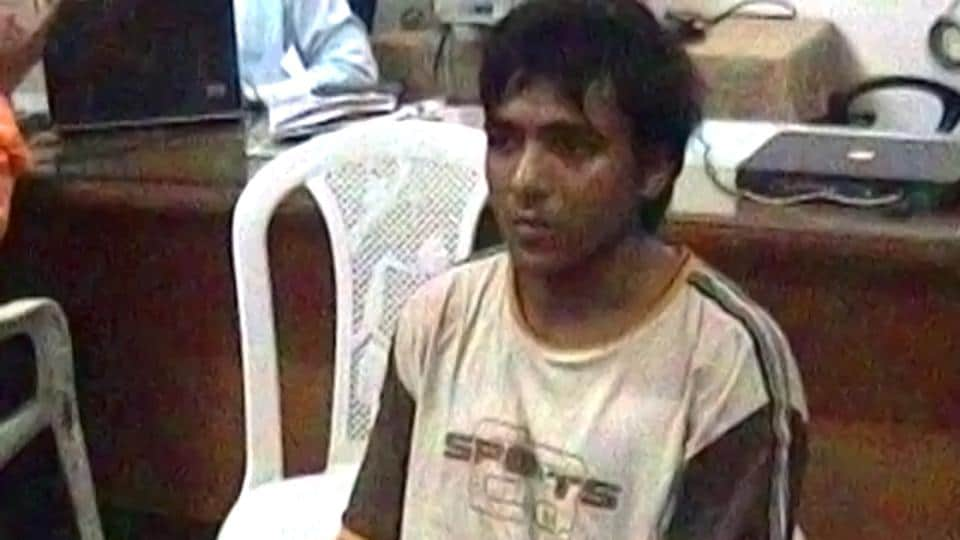 The railway announcer said that Ajmal Kasab was laughing and saying things while he was shooting at the CSTstation in Mumbai.