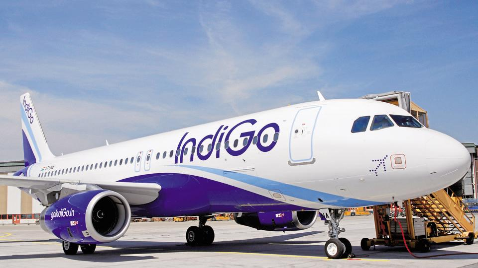 Indigo Flight Igi Airport Cisf