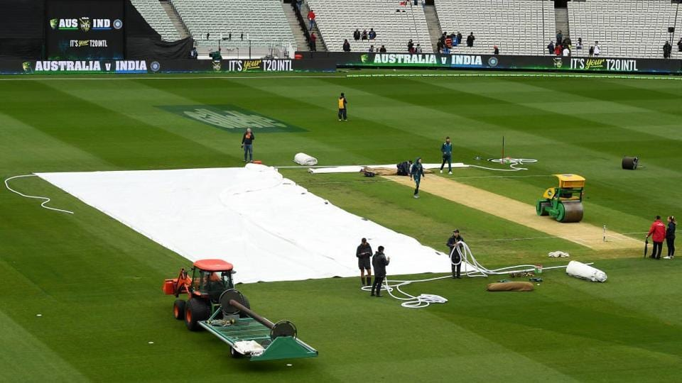 The match between India and Australia in Melbourne was abandoned due to rain. (BCCI)