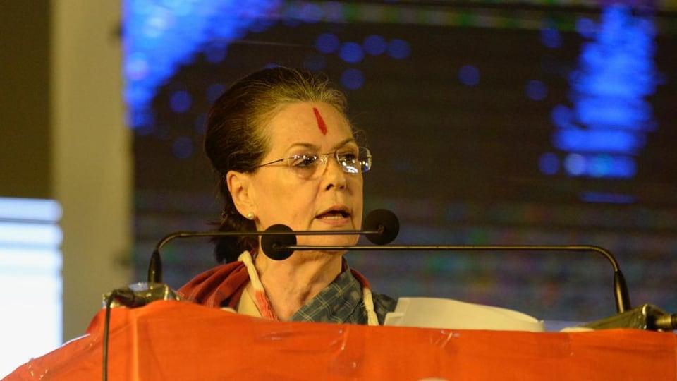 sonia gandhi,sonia gandhi rally telangana,Telangana Election 2018