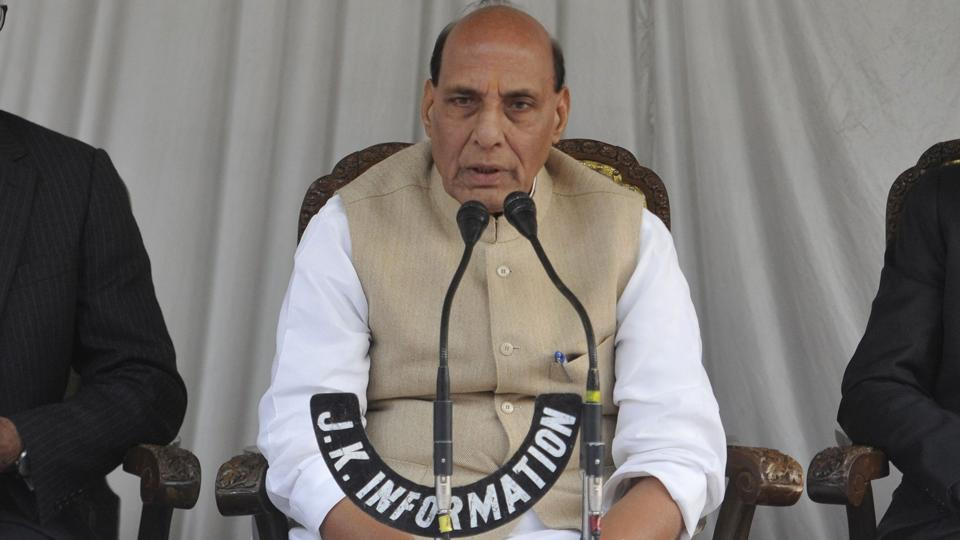 Jammu and Kashmir,Rajnath Singh,BJP