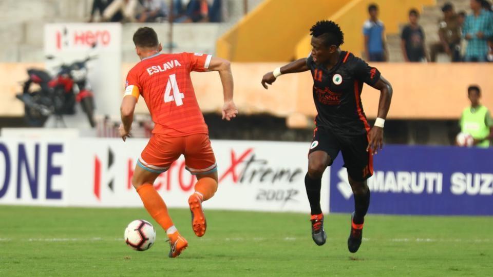 Chennai City defeated Neroca FCin their I-League encounter.