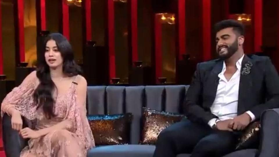 November 25 episode of Koffee With Karan will feature Janhvi Kapoor and Arjun Kapoor.