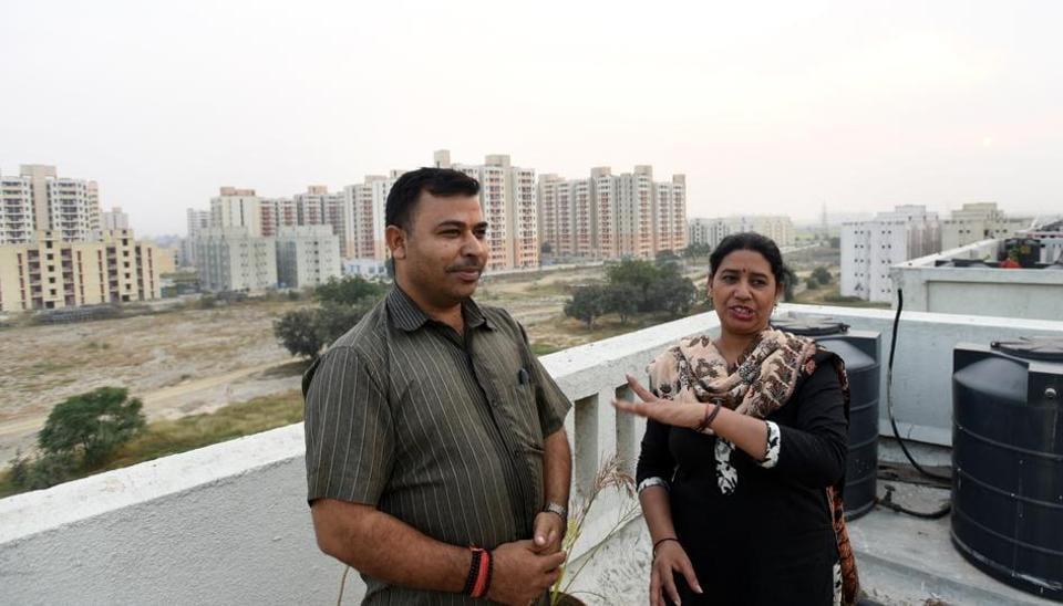 A lonely life in Narela | delhi news | Hindustan Times