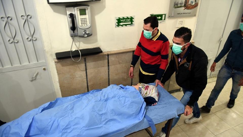 At least 50 people injured in suspected Syrian rebel poison gas attack