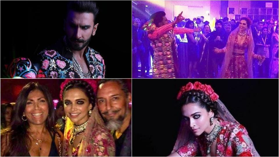 Actors Ranveer Singh and Deepika Padukone danced the night away at their second wedding reception in Mumbai hosted by his sister Ritika Bhavnani. Here are all the pictures from the night.