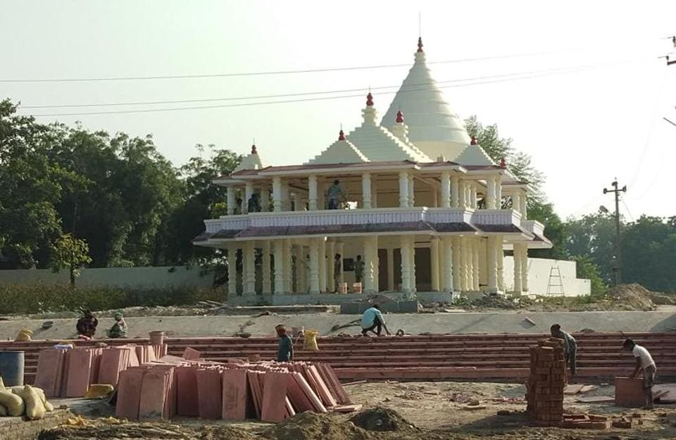 As part of Kumbh-2019 preparations, renovation of Triveni Pushp as well as the Ram temple located in it began in June and is now nearing completion