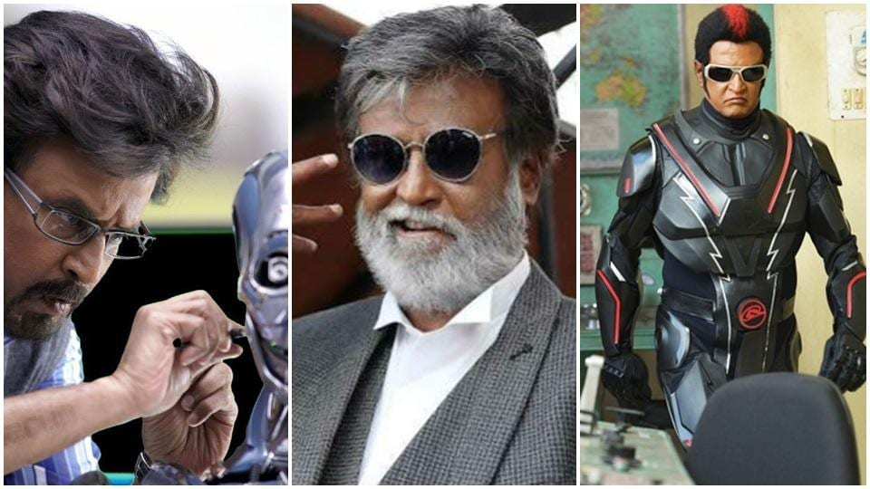 As Rajinikanth's 2.0 is about to release, here's focussing on his movies since Enthiran.