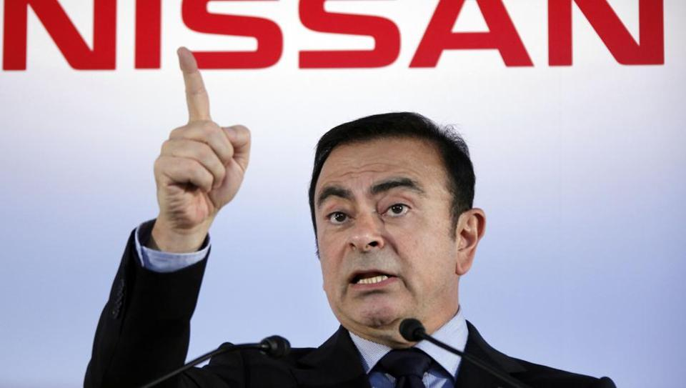 Mitsubishi sacks carlos ghosn as chairman over alleged for Nissan motor finance corporation