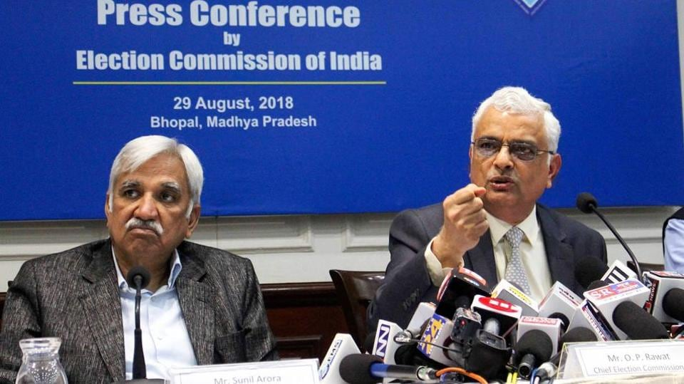 Sunil Arora,OP Rawat,Chief Election Commissioner