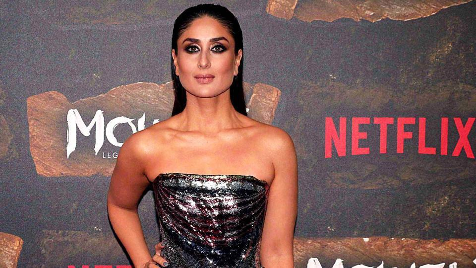 Kareena Kapoor Khan attends the premiere of the Netflix movie, Mowgli: Legend of The Jungle.
