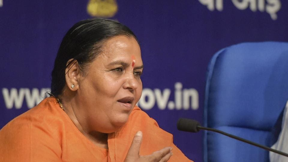 Senior Bharatiya Janata Party leader Uma Bharti said that her party does not have a patent on the Ram temple while calling for all parties to come together to build the temple in Ayodhya.