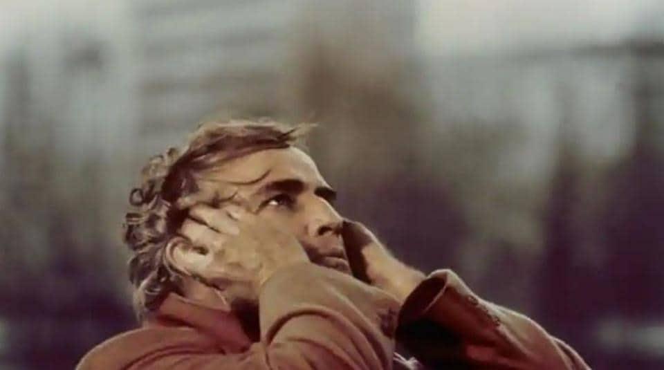 A screengrab from Last Tango In Paris, starring Marlon Brando as the male lead