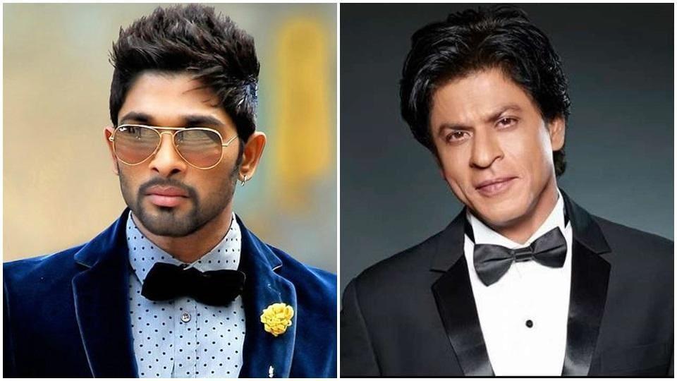 Allu Arjun Relives Magic Moment With Shah Rukh Khans Ddlj Heres