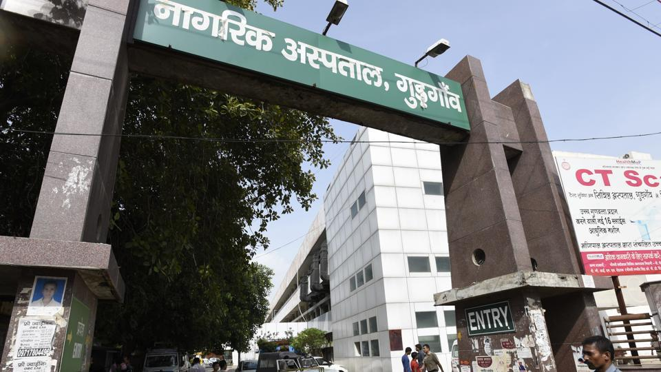 Since Diwali, there has been an increase of almost 50% in the number of patients coming in with upper respiratory infections, such as tonsillitis, sore throat and acute bronchitis, at the Civil Hospital, Gurugram.