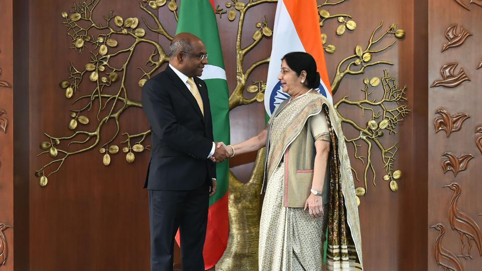 Maldives,India-Maldives ties,Abdulla Shahid