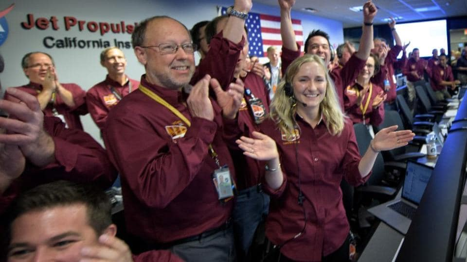 NASA's InSight spacecraft successfully lands on Mars