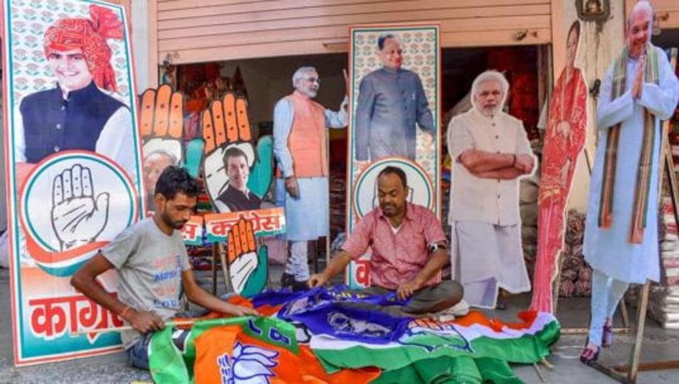 Campaigning for Assembly polls gathers steam in Rajasthan