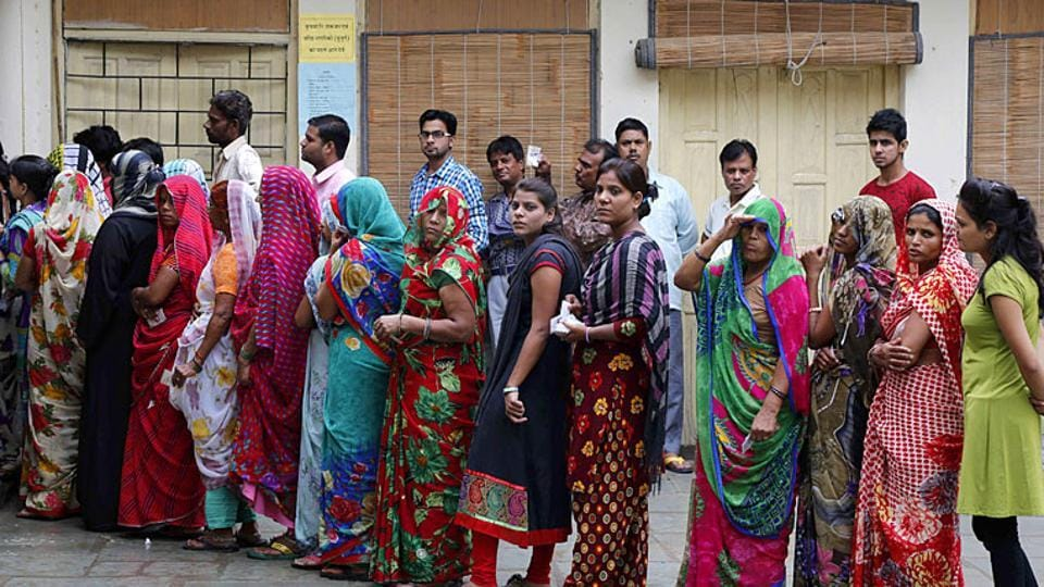 In the 2014 Lok Sabha elections, female turnout was at an all-time high at 65.6%.