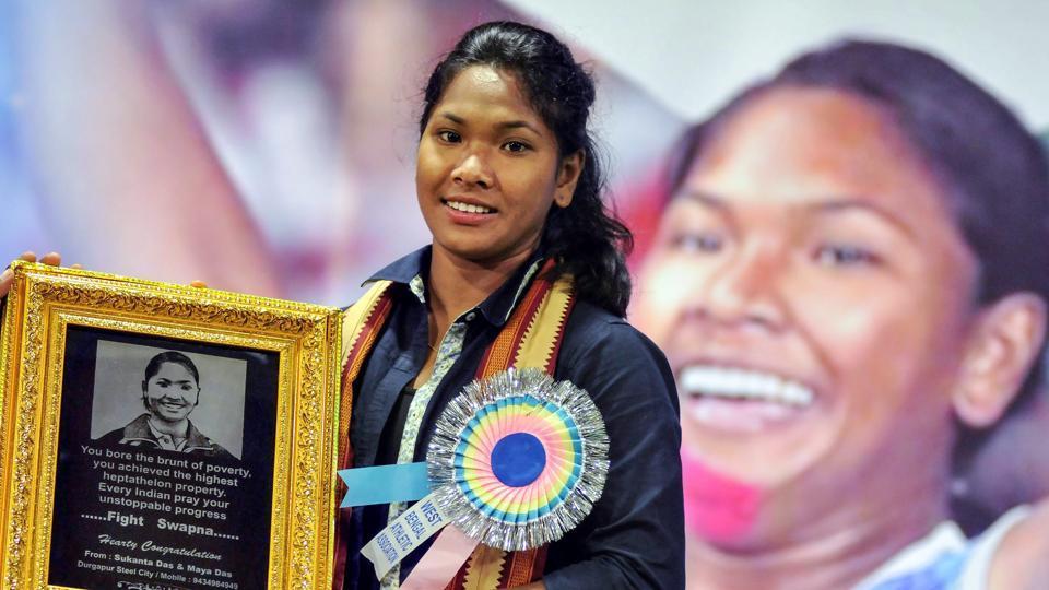 Swapna Barman,Target Olympic Podium Scheme