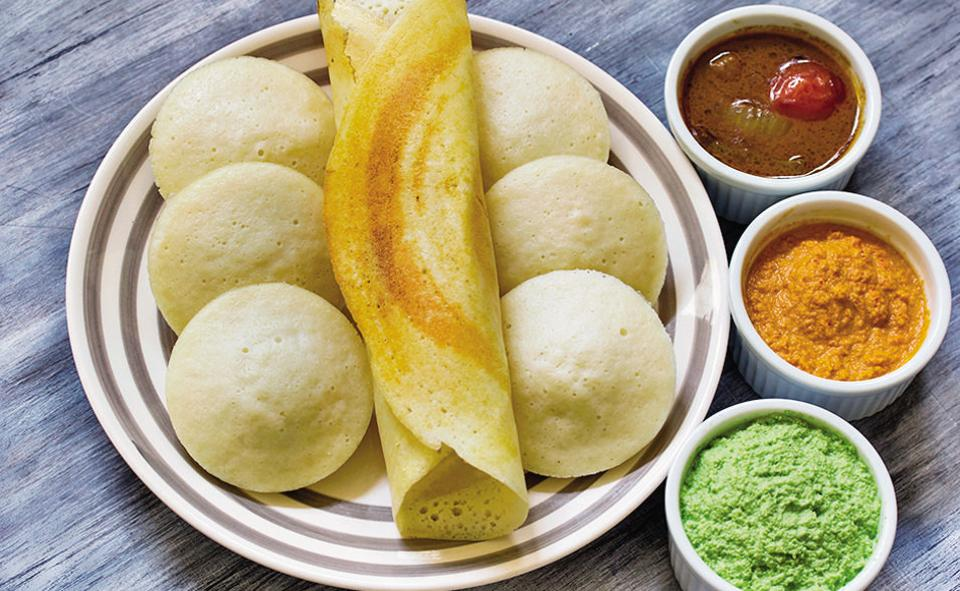 Restaurants selling idlis, dosas, vadas sprang up in the second half of the 20th century