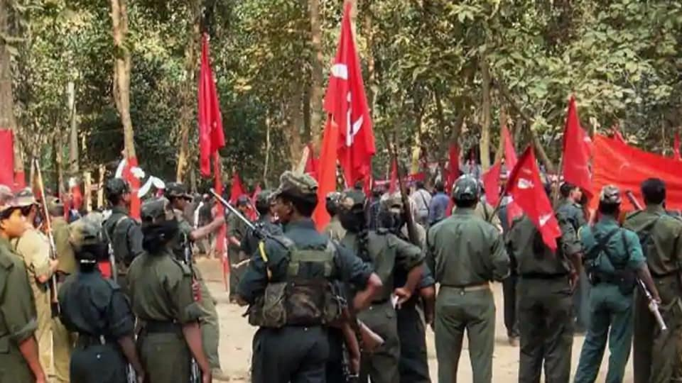 The file picture shows a gathering of Maoists during the CPI (Maoist)'s Ninth Congress in an undisclosed place in Chhattisgarh.