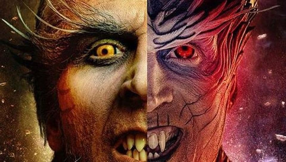Akshay Kumar plays the role of the villain in upcoming film 2.0.