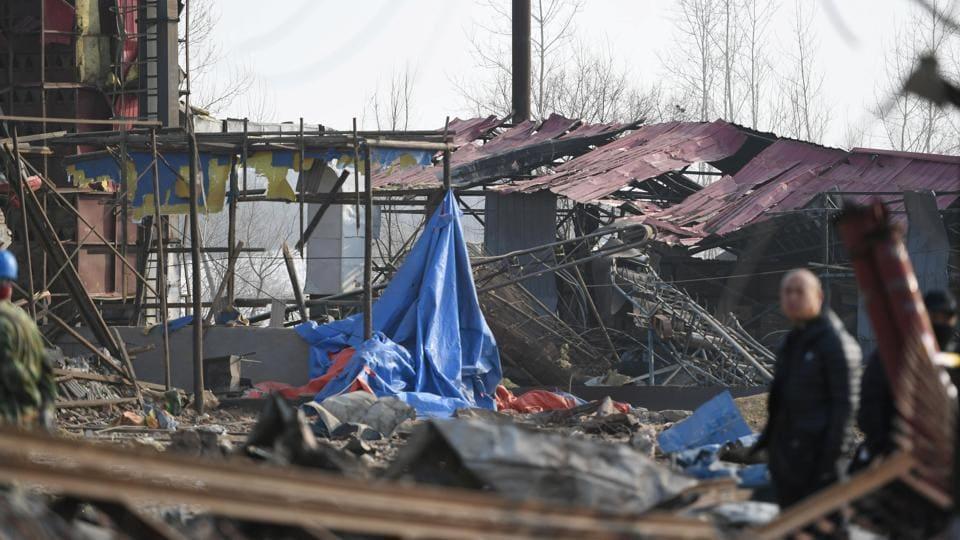 China blast,China chemical plant,China chemical factory