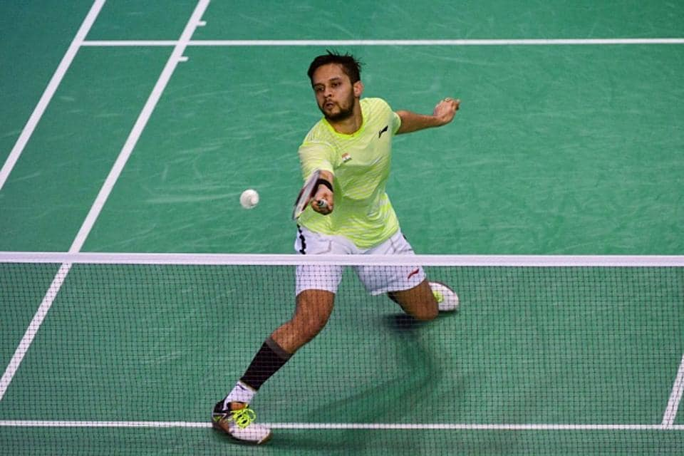 File image of Parupalli Kashyap in action during a match.