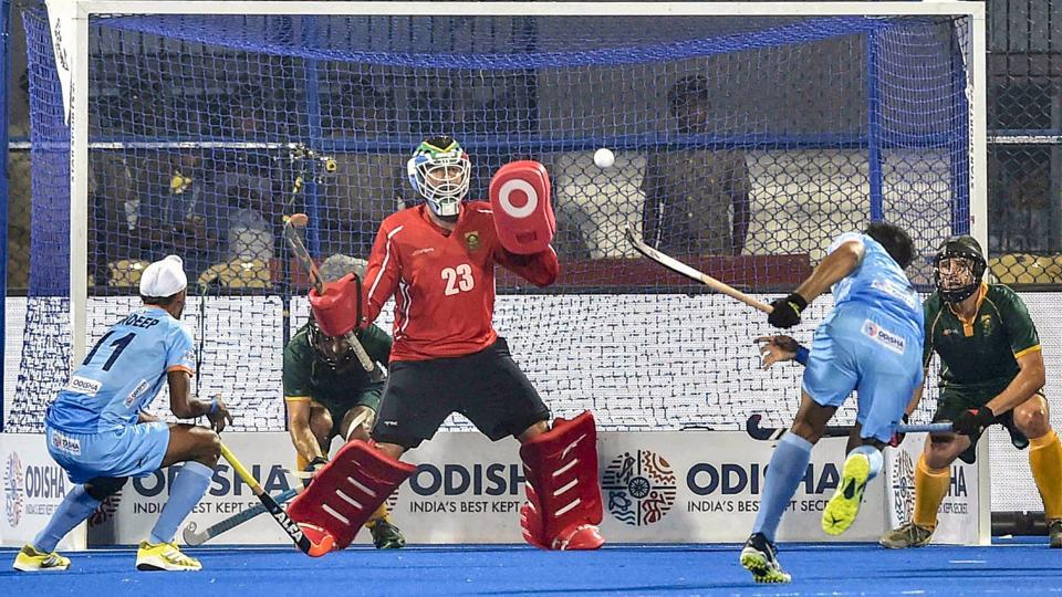 Hockey World Cup 2018,India vs South Africa,5-0
