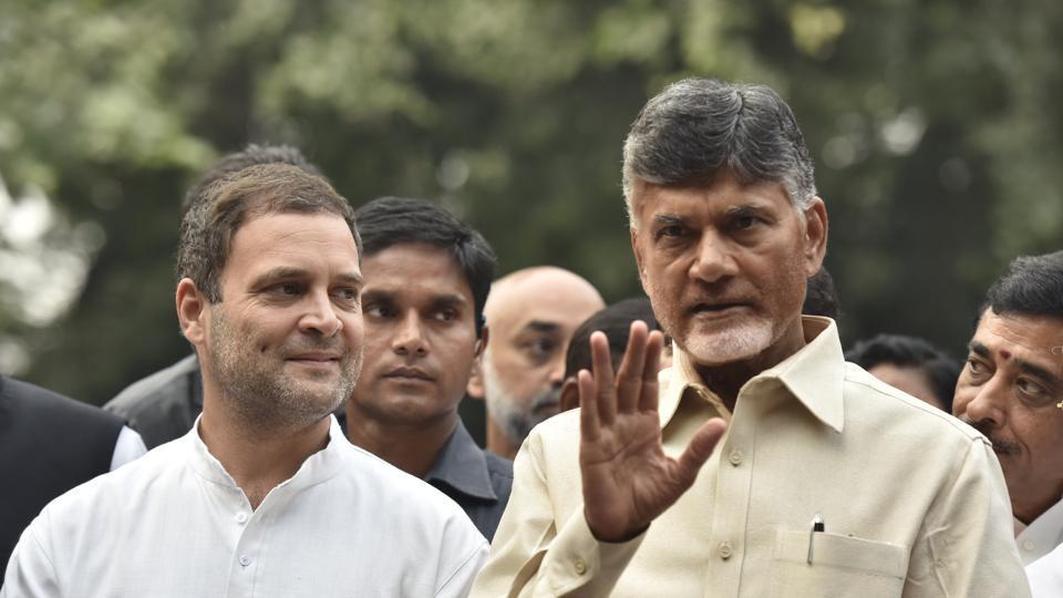 Chandrababu Naidu rolls out Rahul Gandhi