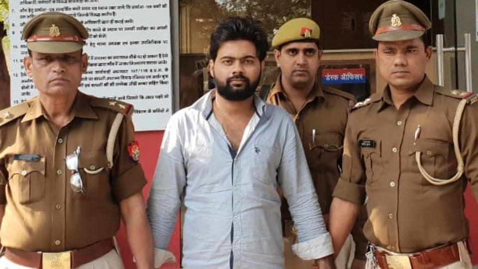 noida,crime,bcom student arrested